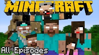 ONE HOUR of If Herobrine had a Family - All Episodes | Minecraft