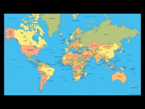 Countries of the World Song (as