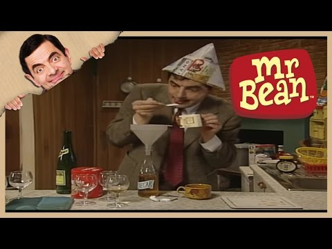Mr. Bean - How to Make Your own Twiglets