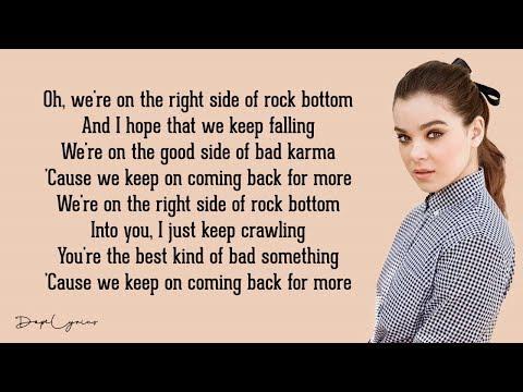 Hailee Steinfeld Rock Bottom Lyrics 🎵