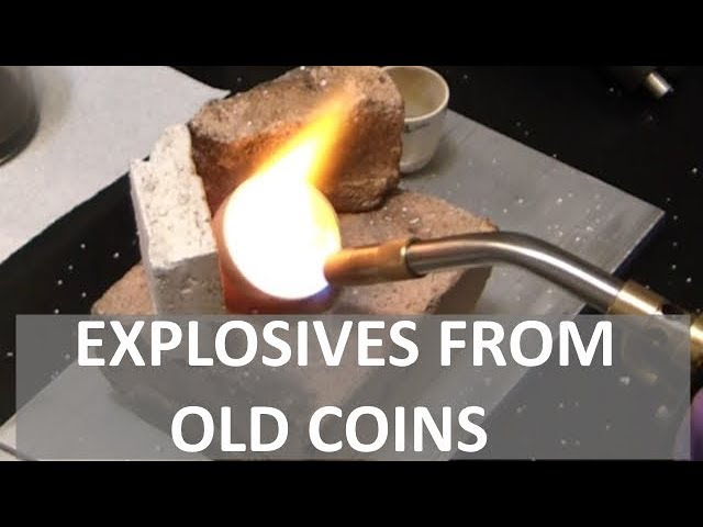 Turning an OLD COIN Into an EXPLOSIVE! - Elementalmaker