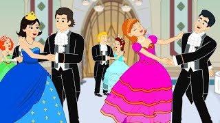 12 Dancing Princesses kids story cartoon animation