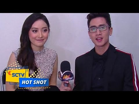 Natasha Wilona dan Verrel Bramasta Raih Penghargaan SCTV Awards 2017 - Hot Shot