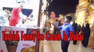 Turkish Funny Ice crime In Dubai , UAE