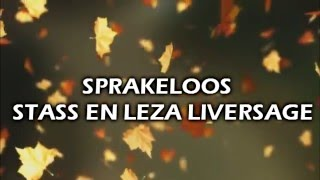 Sprakeloos (Lyrics) - Stass & Leza Liversage
