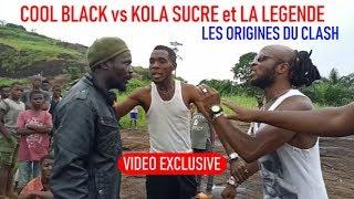 """COOL BLACK vs KOLA SUCRE et LA LEGENDE """"les causes du clash"""