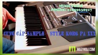 Demo Samples Korg Pa900