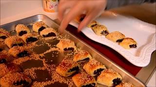 اكلات عراقية ام زين -كليجة تمر-