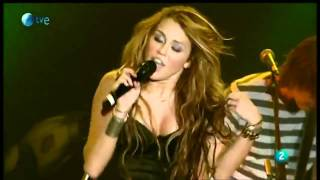 miley cyrus  fly on the wall  live  rock in rio