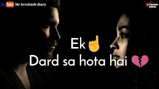 For your girlfriend Sad Heart touching Dialogue whatsapp status video specially for boys