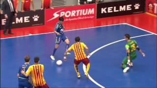 Resumen Movistar Inter Fs 3-1 FC Barcelona Lassa | Liga 2015-16 Jornada 7