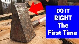 The Mega Wood Splitting Maul - Simply The Best!