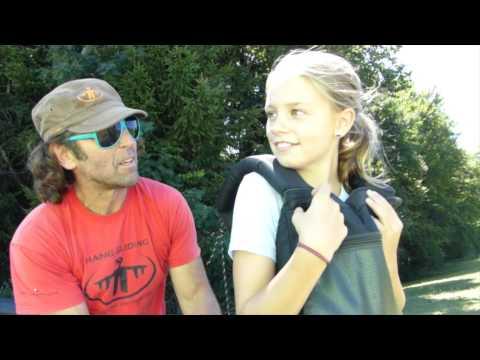 hang gliding interlaken 10 year old girl