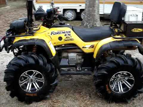 Updated 02 Honda Foreman Soggy Bottom Boyz of MS
