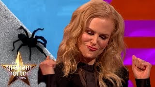 Nicole Kidman Caught A GIGANTIC Tarantula! | The Graham Norton Show