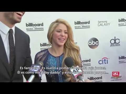 Xxx Mp4 Shakira Y Piqué Se Estrenan En La Alfombra Roja En Los Premios Billboard 3gp Sex