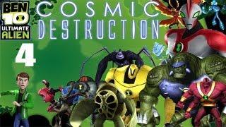 Let's Play Ben 10 Ultimate Alien: Cosmic Destruction #4 - Sacre Bleu!