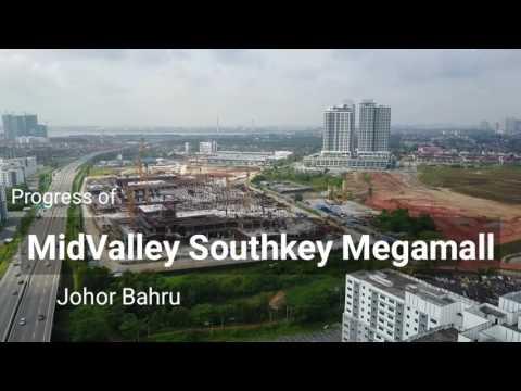 Progress of MidValley Southkey Megamall Johor Bahru - 26.05.2017