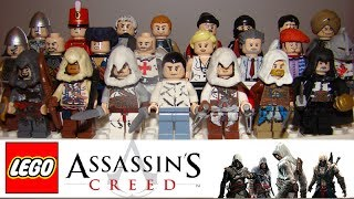 LEGO Assassin's Creed: Minifigures and Models CUSTOM