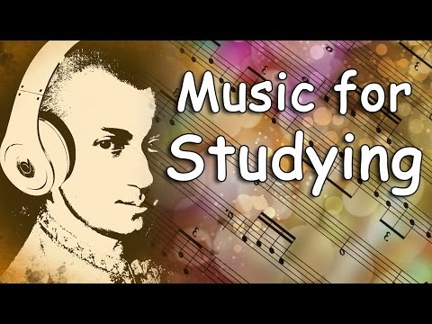 Classical Music for Studying and Concentration Mozart Study Music Relaxing Music for Studying