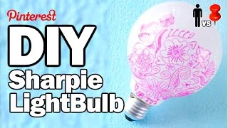 DIY Sharpie Bulb - Man Vs. Pin #28 w/OlgaKay