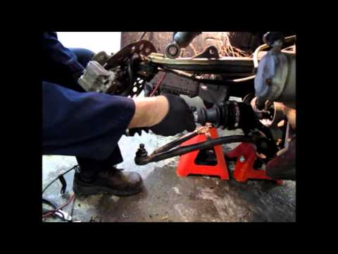 Part 2 Yamaha 660 Grizzly Right axle replacement