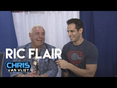 Ric Flair Interview July 28, 2017 - Why Cena won't break his record, the art of the WOO, more