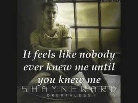 Shayne Ward Until You video lyircs