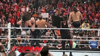 Big Show & Kane vs. The Social Outcasts: Raw, March 28, 2016