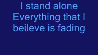 Godsmack-I stand alone lyrics