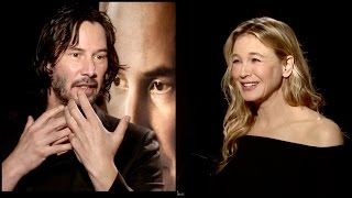 Keanu Reeves & Renée Zellweger on their fans, their old movies & how much they love each other