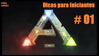 ARK: Survival Evolved (PS4) - Dicas para Iniciantes # 01