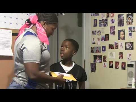 Mom pranks kid on 8th birthday