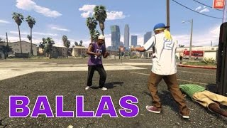 Gang Wars - Ballas - GTA 5 Short film