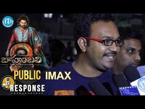 Baahubali 2 IMAX Public Response || S S Rajamouli, Prabhas, Anushka Shetty, Rana Daggubati