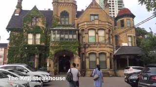 Toronto Vlog #4:The first day in ILAC,The Keg steakhouse August 15,2016