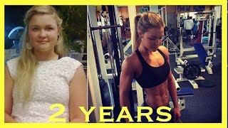 MY WEIGHT LOSS JOURNEY - FITNESS MOTIVATION - From chubby to fit