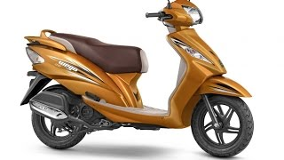 2017 TVS Wego BS4 Launched at RS 50,434/-