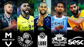 TOP » 10 Volleyball Transfers Season 2018/19 | The Best Volleyball Players In The World