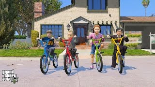 GTA 5 BABY'S REAL LIFE #1 THE BEGINNING (GTA 5 Mods For Kids)