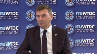 ITU INTERVIEWS @ WTDC-17: Andrus Ansip, Vice President, European Commission