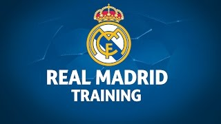 Real Madrid Training Session
