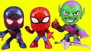 Marvel Spider-man Vinyl Bobblehead Mystery Minis Surprise Toy Opening
