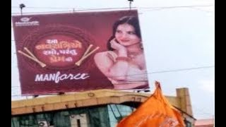HYV group stages protest over Sunny Leone's Navratri themed 'Manforce' ad