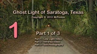 Bragg Ghost Road Light Saratoga Texas 1 of 3 Low Light Test