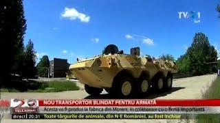 Proiect pentru un nou transportor blindat pentru Armata Română