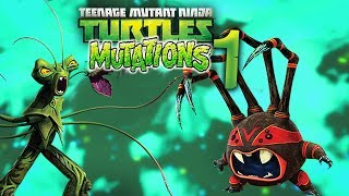 TMNT MUTATIONS and ANIMATIONS Part 1
