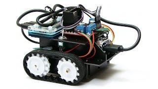 Raspberry Pi Robotics #3: Keyboard Control