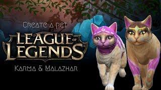 Karma & Malzahar | The Sims 4 League Of Legends CAP collab /w Cristey Sims