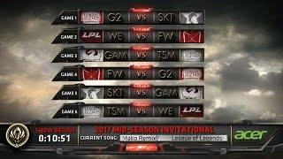 MSI Day 1 Highlights ALL GAMES ALL KILLS - Mid Season Invitational 2017 Highlights